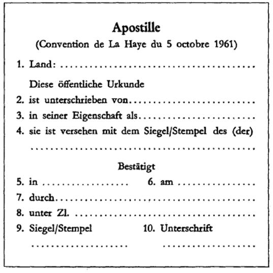 Apostille beglaubigte Übersetzungen - Einfach Russisch Übersetzungen